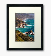 Big Sur California Central Coast Framed Print