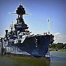 USS Texas by Bob Moore