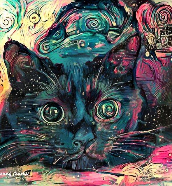 Vincent's Cat by Bunny Clarke
