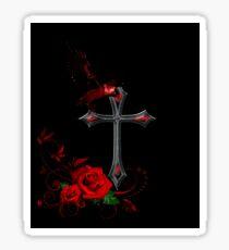 Goth Rock Design Sticker