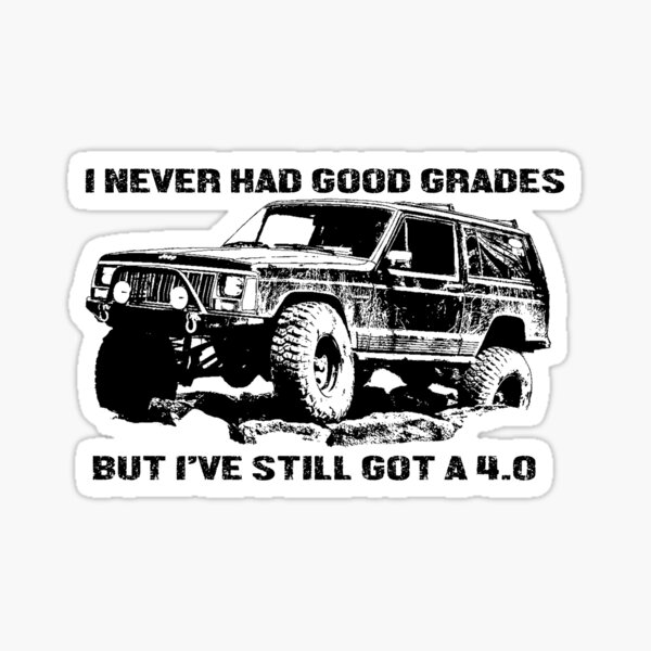 Funny Jeep Cherokee Stickers