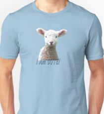 I am Cute - Kids T-Shirt - Lamb - NZ - Southland T-Shirt