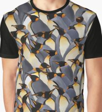 Penguin Pattern Graphic T-Shirt