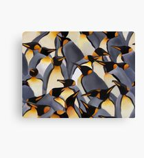 A Waddle Canvas Print