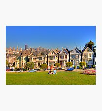 "San Francisco ""Painted Ladies"" Photographic Print"