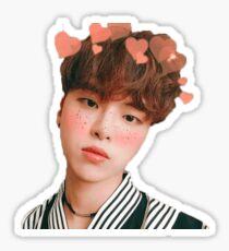 Hajoon with Hearts Sticker