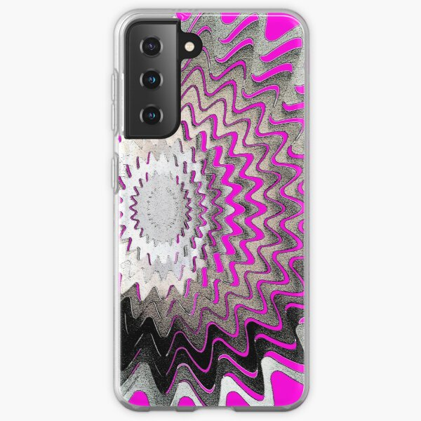 Pink Abstract Samsung Galaxy Soft Case