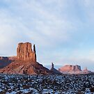 Monument Vally Mitten Panorama by Will Hore-Lacy