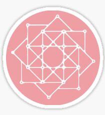 The Rose: Logo Sticker
