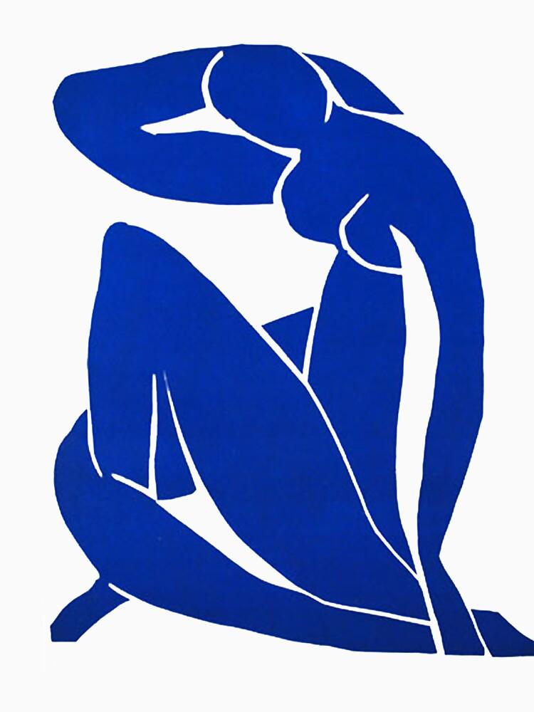 Blue Nude II , 1952 - Henri Matisse  by xd3ctrl1zed