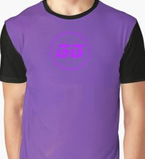 SiegeGG - Purple Washed Graphic T-Shirt