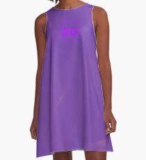 SiegeGG - Purple Washed A-Line Dress