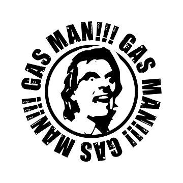 Bottom 'Gas Man' Design by davidspeed