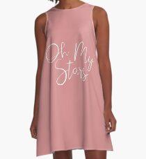 Oh My Stars A-Line Dress