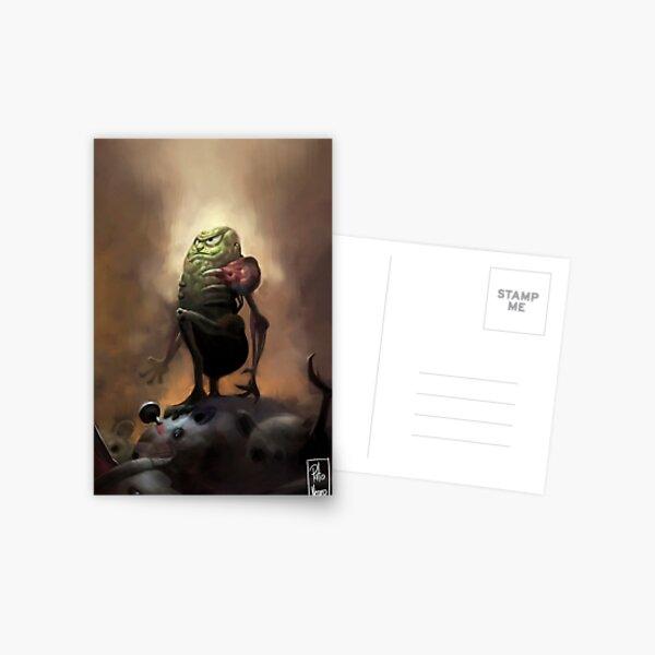 Pickle rick Postcard