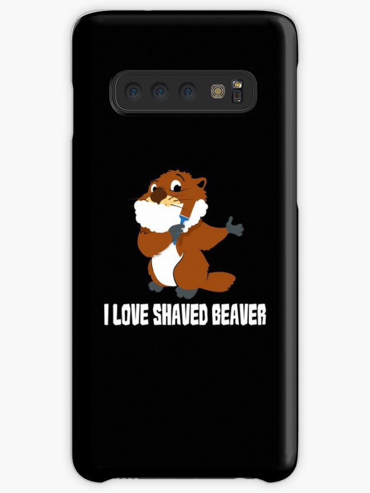 Have appeared shaved beaver eating for