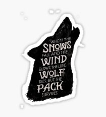 Games of Thrones Quote Shirt – Funny Bronn Quote Shirt – Game of Thrones t Shirt with Quotes - Wolf Sticker