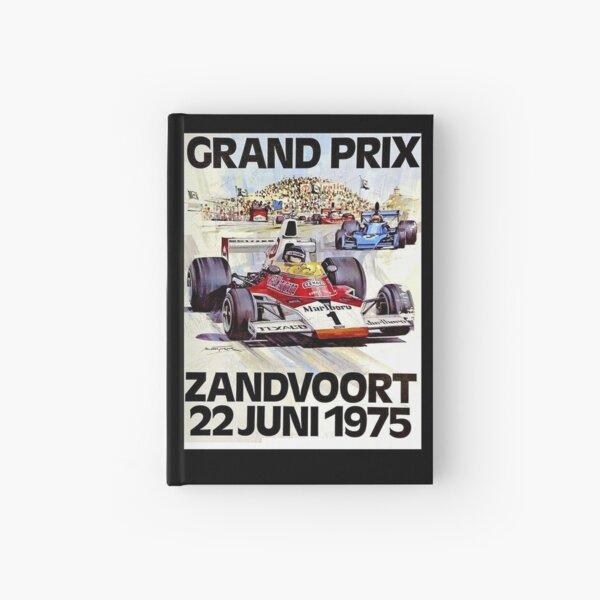 ZANDVOORT GRAND PRIX : Vintage 1975 Auto Racing Print Hardcover Journal