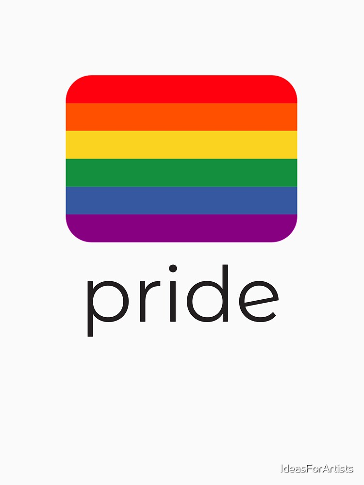 pride flag by IdeasForArtists