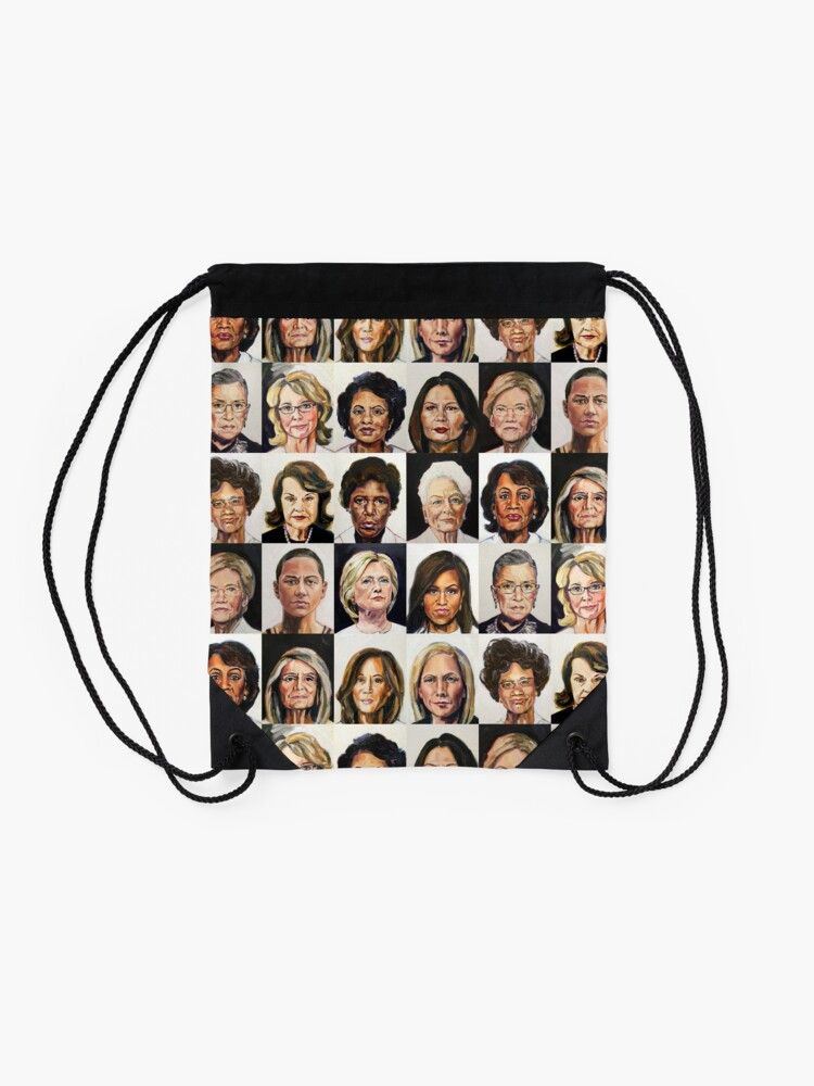 Alternate view of Sheroes Drawstring Bag