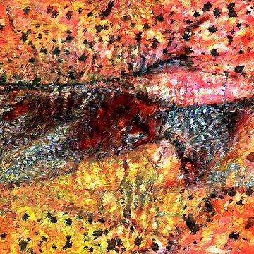 Sedimentary Rock Abstract by DANAROPER