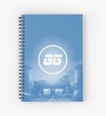 SiegeGG - Border Spiral Notebook