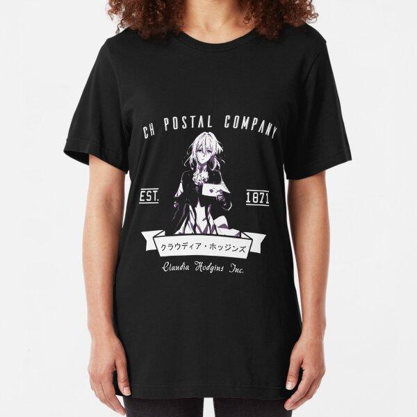 Violet Evergarden - CH Postal Company Anime Shirt Slim Fit T-Shirt