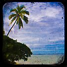 Trees & Beach by ADMarshall