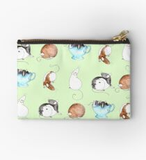 Ratty People Zipper Pouch