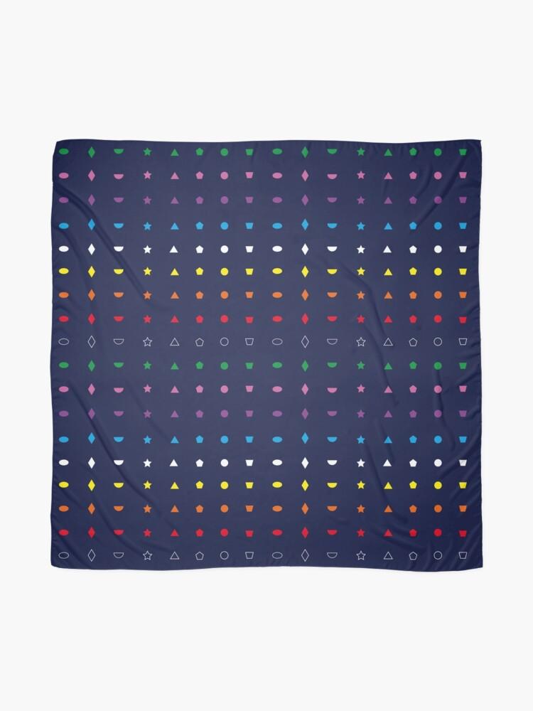 Alternative Ansicht von Mamatuch mit Formen und Farben Tuch