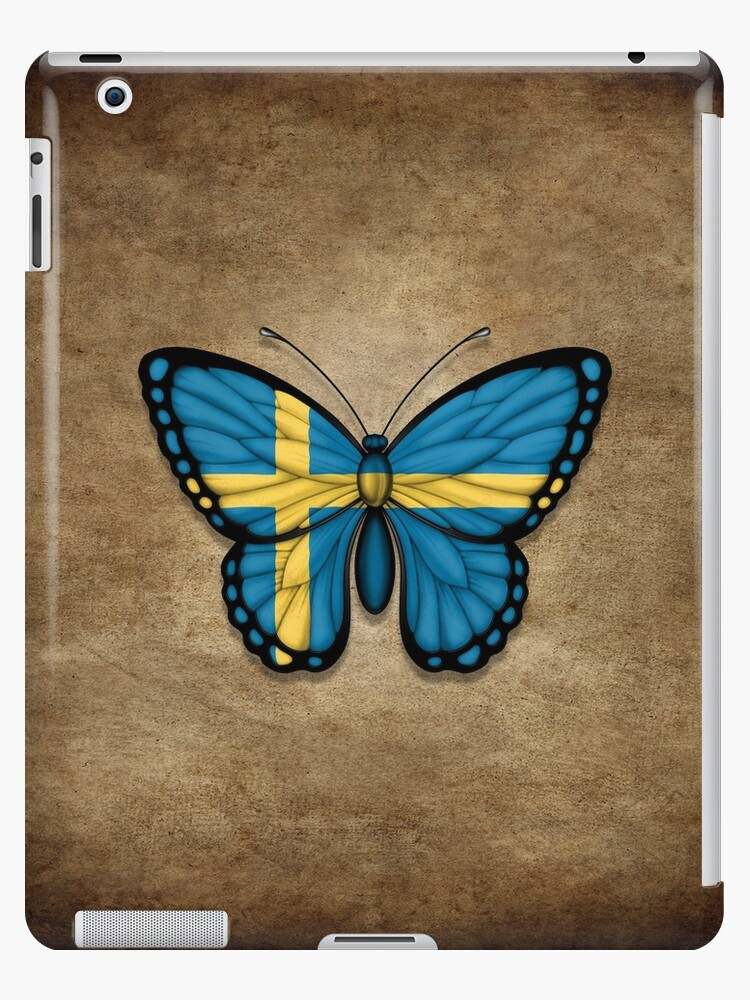 ee023dfc Swedish Flag Butterfly