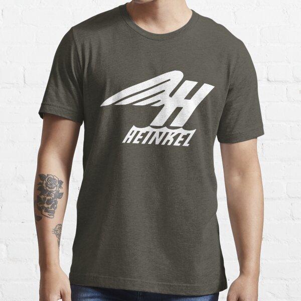 Heinkel Flugzeugwerke Logo (White) Essential T-Shirt