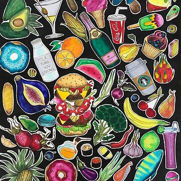 Foodgasm by Sofiazueva