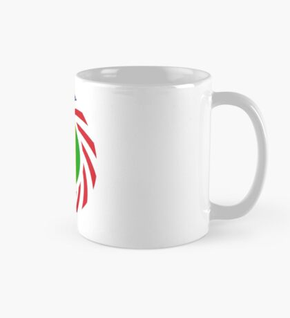 Saint Vincentian American Multinational Patriot Flag Series Mug
