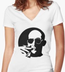 Mescalito Women's Fitted V-Neck T-Shirt