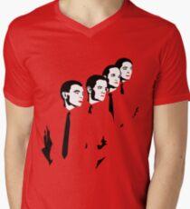 Man Machine Men's V-Neck T-Shirt