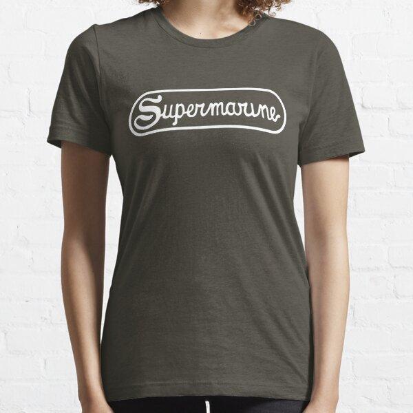 Supermarine Aircraft Company Logo - White Essential T-Shirt