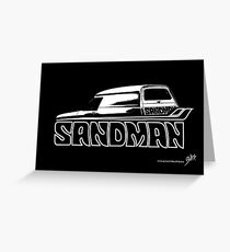 Holden Sandman Panel Van © Greeting Card