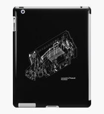 axonometric black 2 iPad Case/Skin