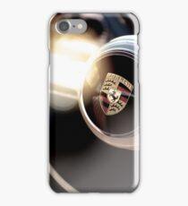 Classic Porsche Steering Wheel detail iPhone Case/Skin