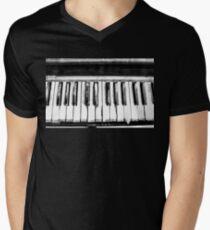 Eerie Piano Men's V-Neck T-Shirt