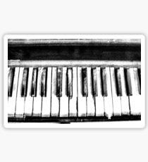 Eerie Piano Sticker