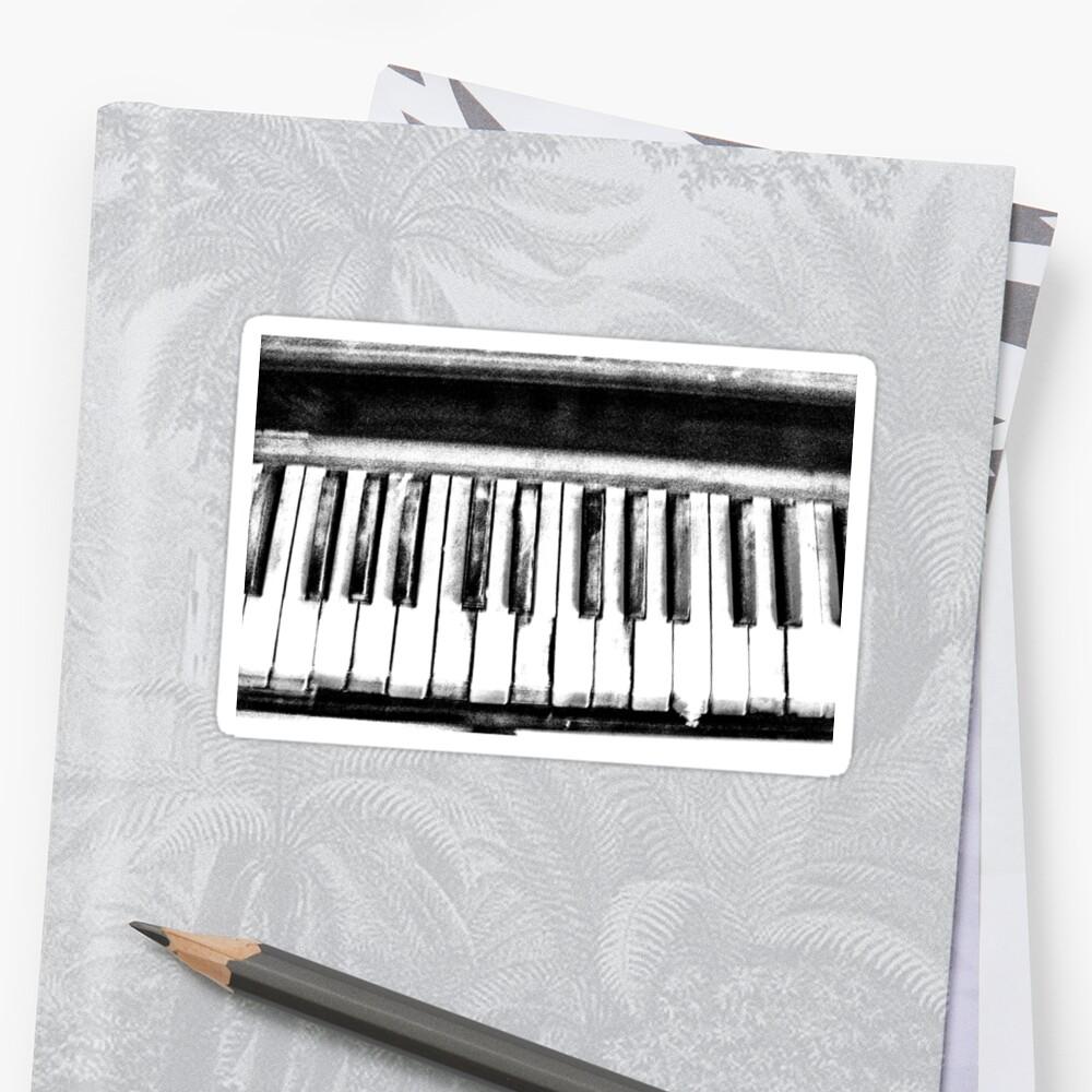 Eerie Piano by Richard Dooley