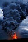 Kilauea Volcano at Kalapana 3d by Alex Preiss