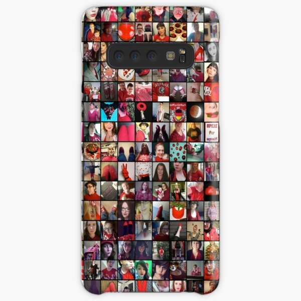 #WalkInRed2015 Large Collage Samsung Galaxy Snap Case