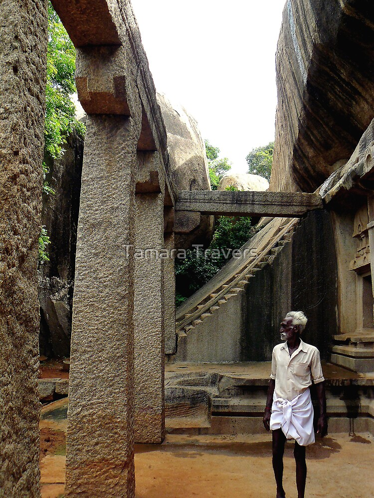 Cave Temple, South India by Tamara Travers