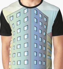 Colourfull Street Corner Graphic T-Shirt