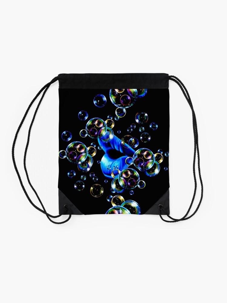 Alternate view of Bubble Lips Drawstring Bag