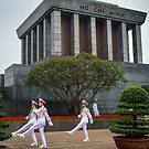 Mausoleum of Ho Chi Minh  by AndrewStadnyk