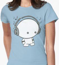 Music Boy Women's Fitted T-Shirt